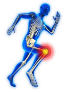 skeleton-running-knee-pain